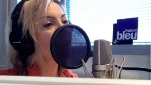 Voix off radio France Bleu - Sandrine Fougère,